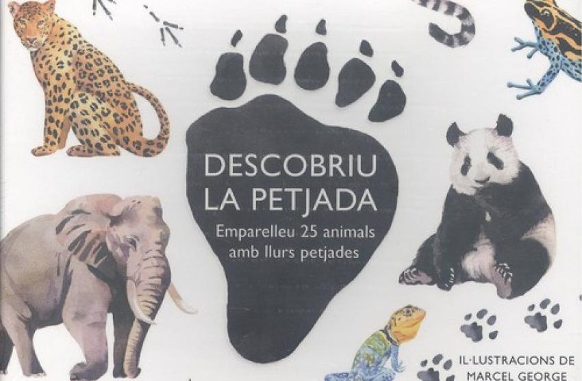 (CAT).DESCOBRIU LA PETJADA:EMPARELLEU 25 ANIMALS