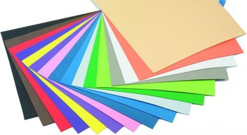 Blister 10 láminas goma eva colores surtidos 40x60 faibo