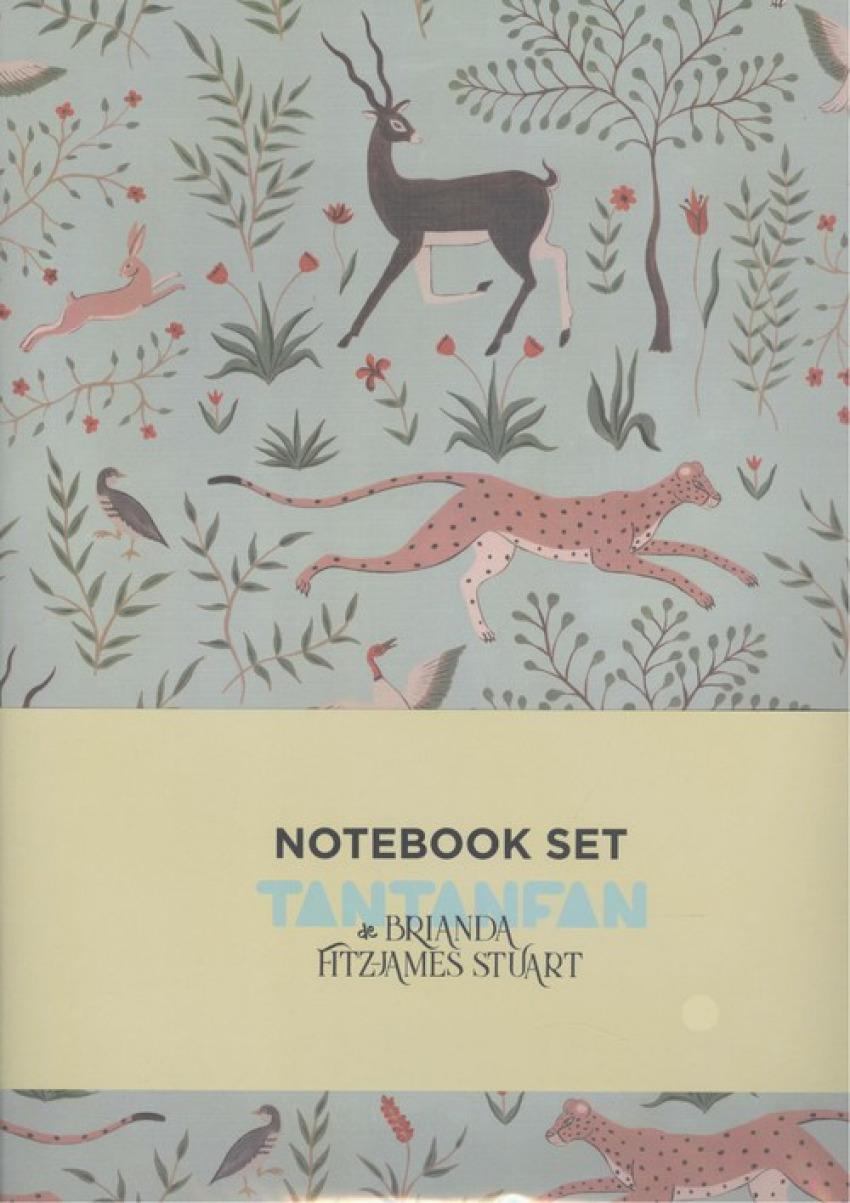 (pack2).brianda caballos y gacelas.(cuadernos cosidos)