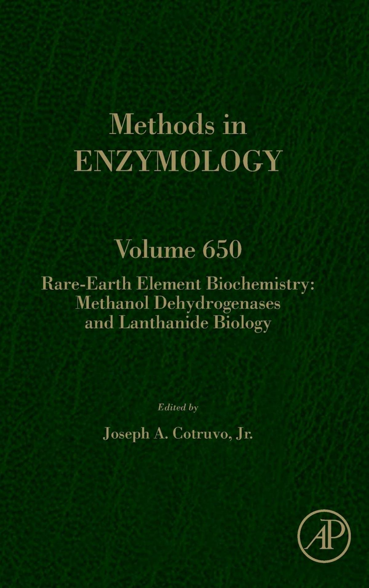 RARE-EARTH ELEMENT BIOCHEMISTRY:METHANOL DEHYDROGENASES 650