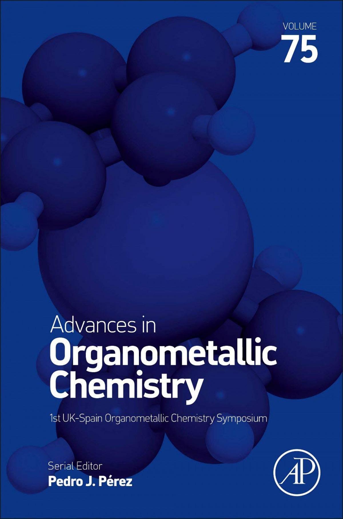 ADVANCES IN ORGNANOMETALLIC CHEMISTRY VOL.75