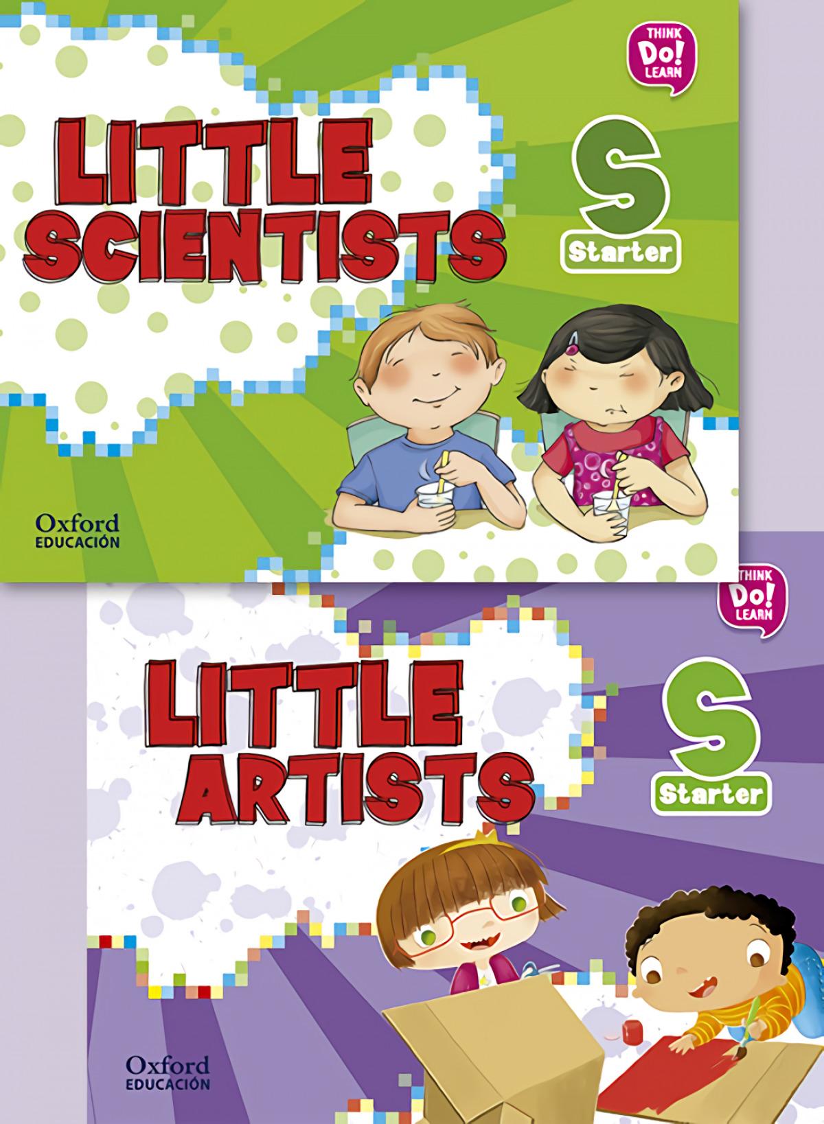 (17).LITTLE ARTIST & LITTLE SCIENTISTS STARTER.(PACK)