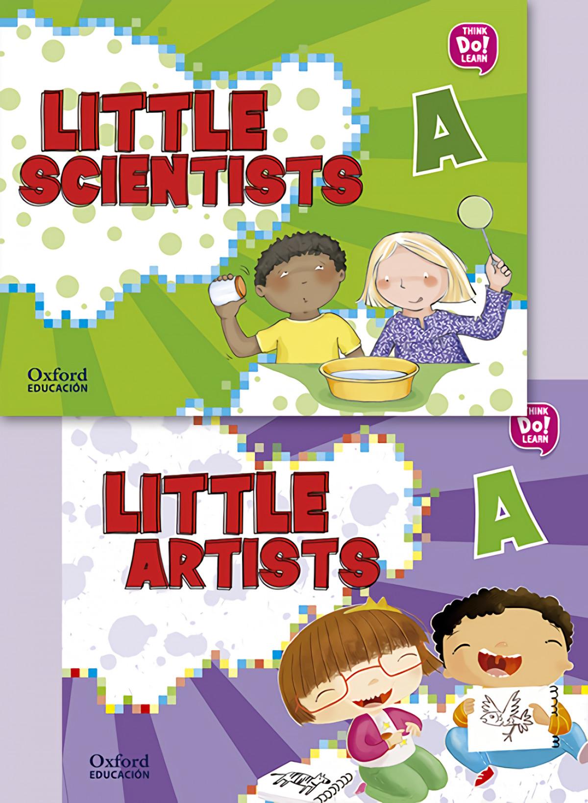 (17).LITTLE ARTIST & LITTLE SCIENTISTS A.(PACK)