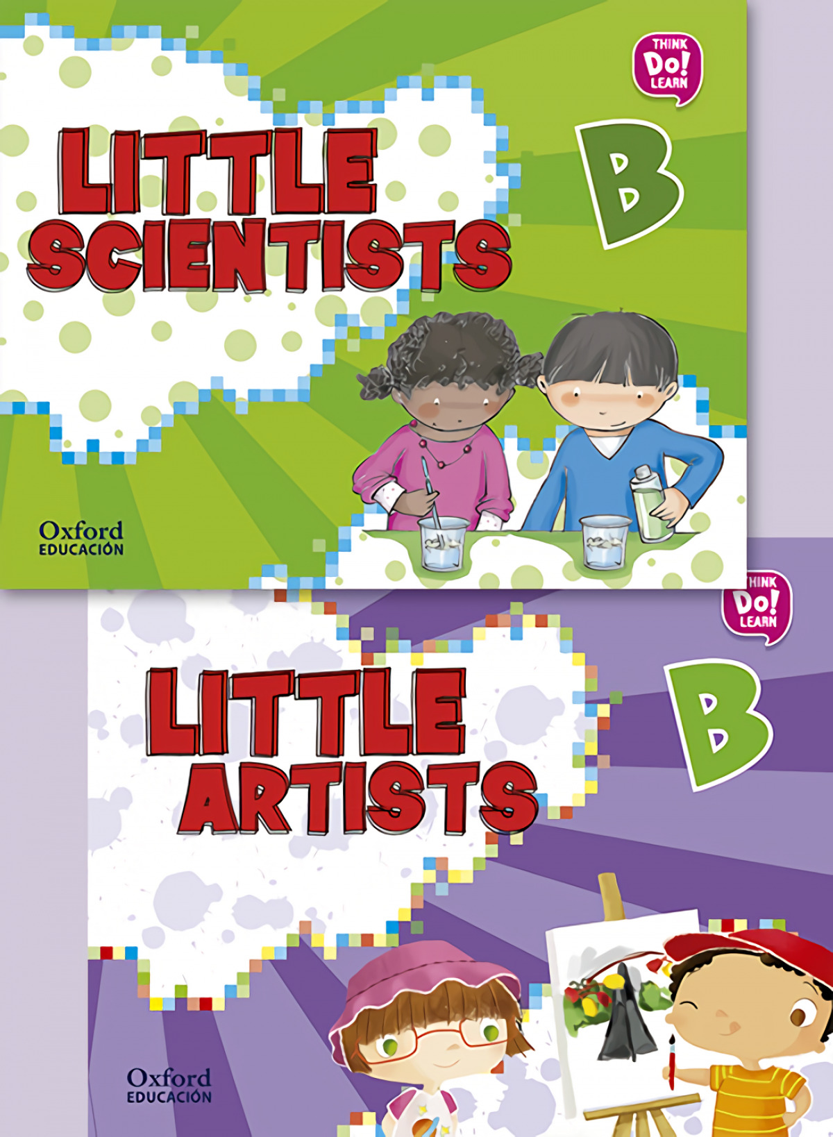 (17).LITTLE ARTIST & LITTLE SCIENTISTS B.(PACK)