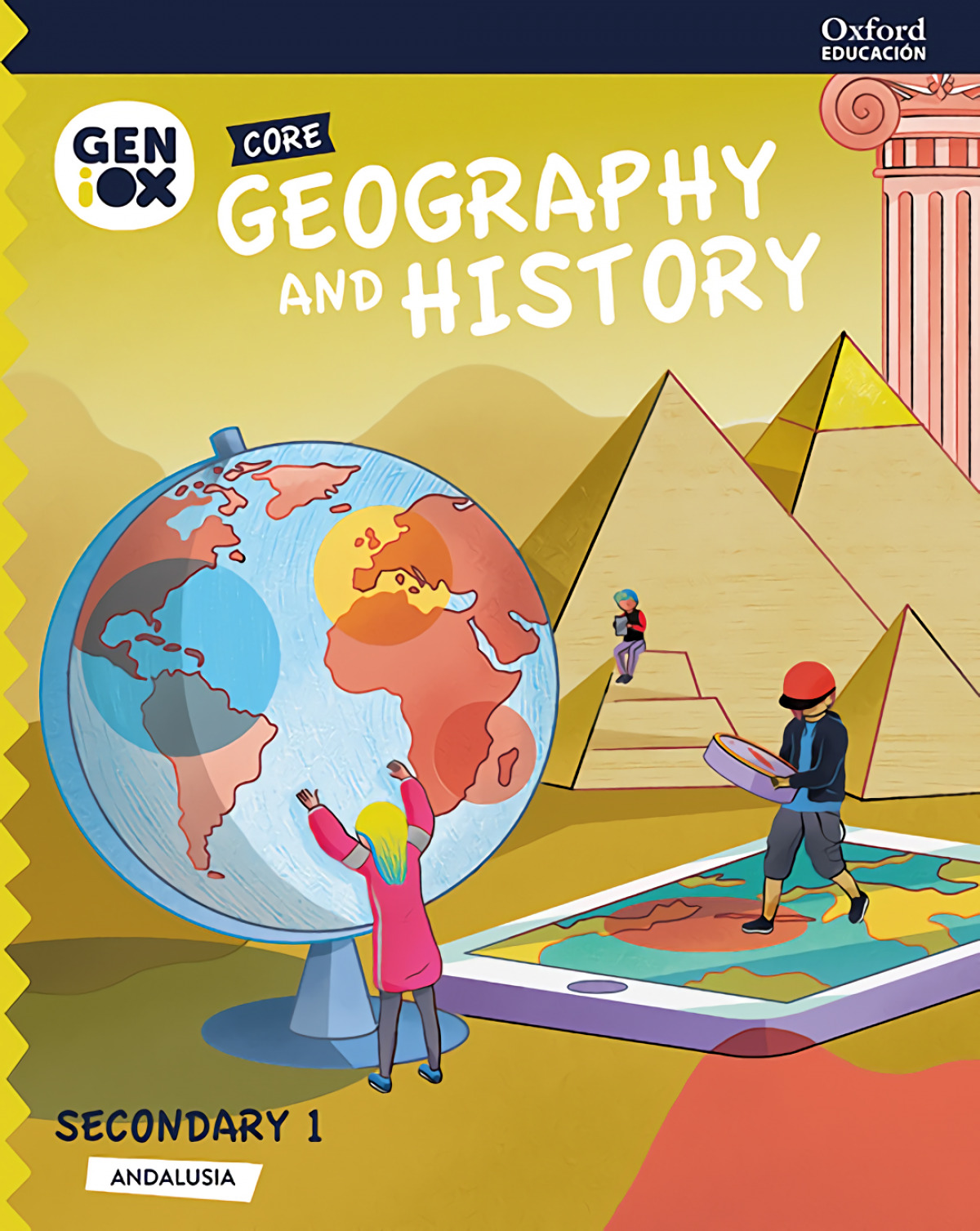 GEOGRAPHY & HISTORY 1ºESO STUDENT CORE. GENIOX. ANDALUCÍA