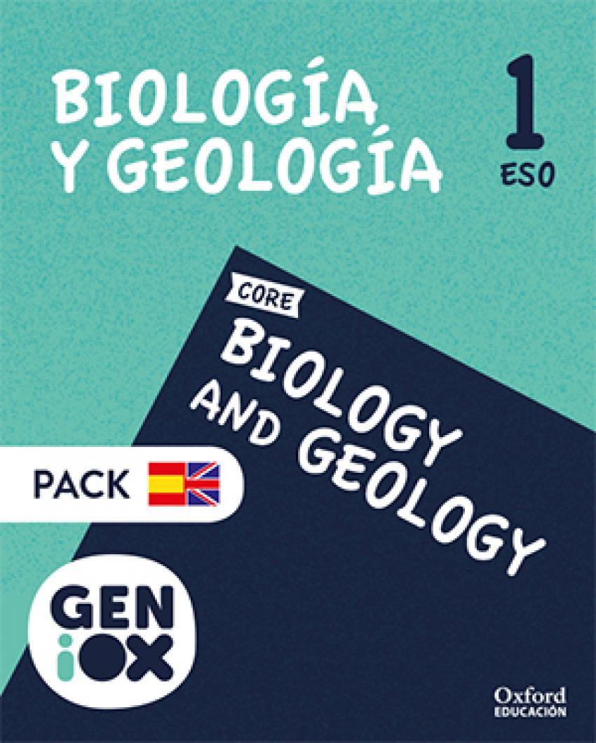 BIOLOGY & GEOLOGY 1ºESO. BILINGÜE. GENIOX. MURCIA