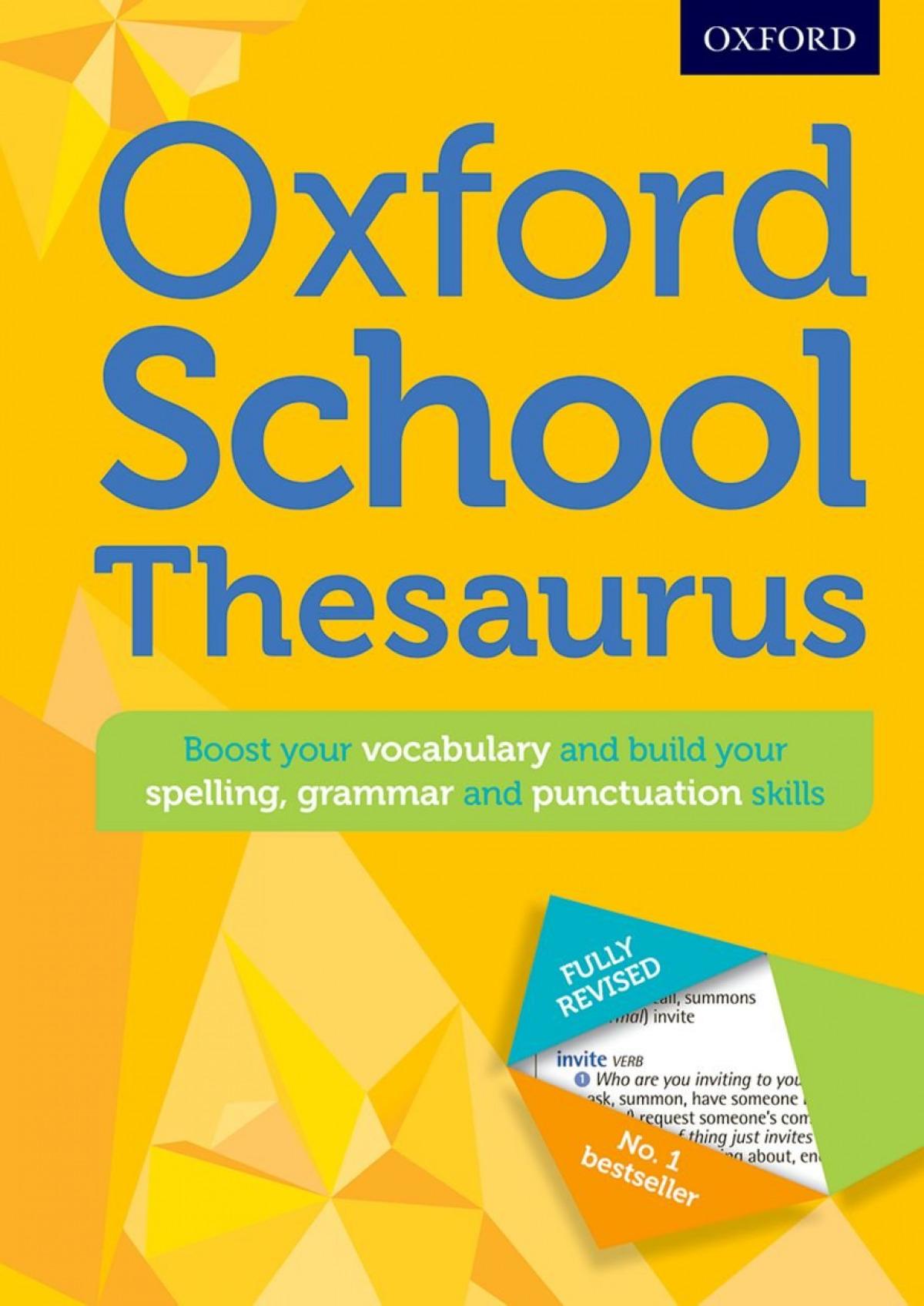 Oxford School Thesaurus. 2016