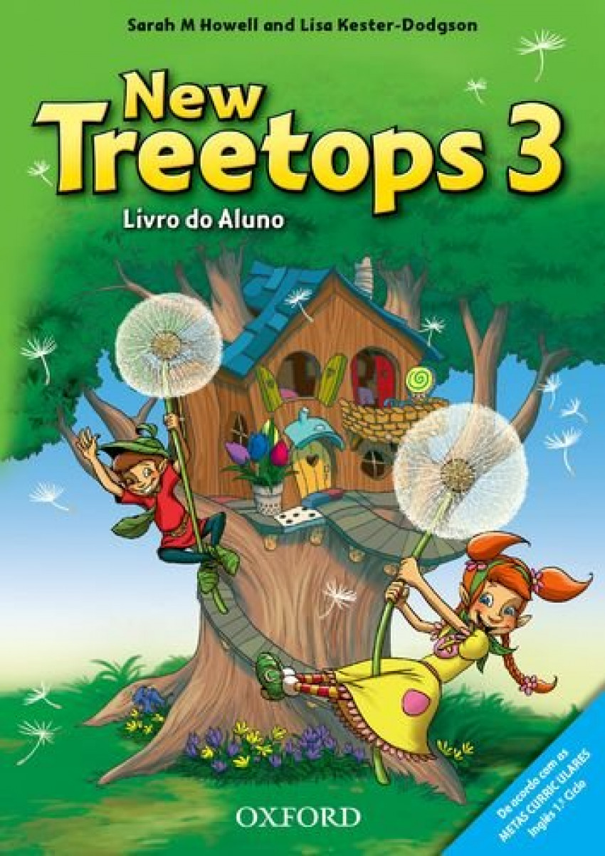 New Treetops 3 classbook. 3º Ano Manual. Portuguese Edition