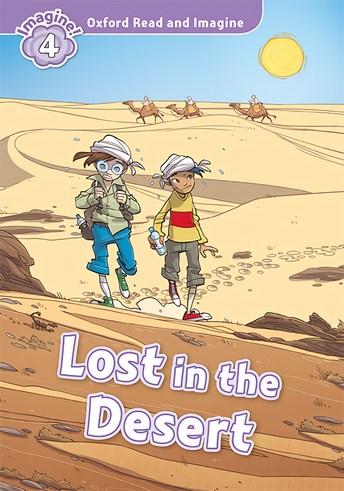 Oxford Read and Imagine 4. Lost in the Desert MP3 Pack