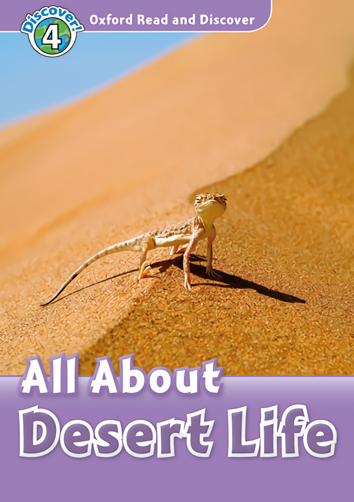 Oxford Read and Discover 4. All About Desert Life MP3 Pack