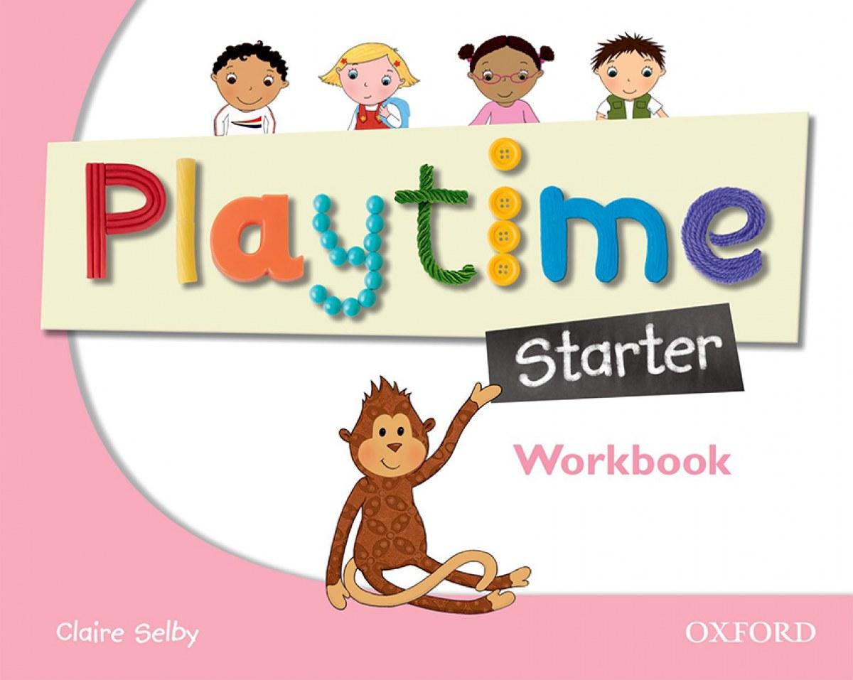 PLAYTIME STARTER ACTIVITY BOOK INFANTIL 3 AÑOS