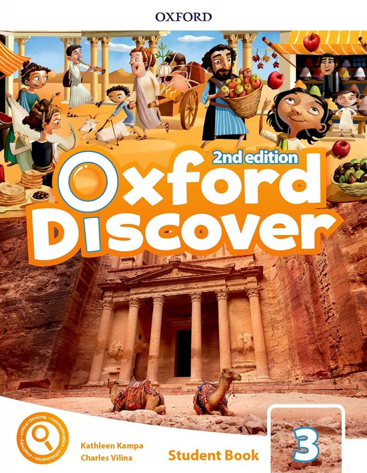 OXFORD DISCOVER 3 PRIMARY STUDENT BOOK SECOND EDITION