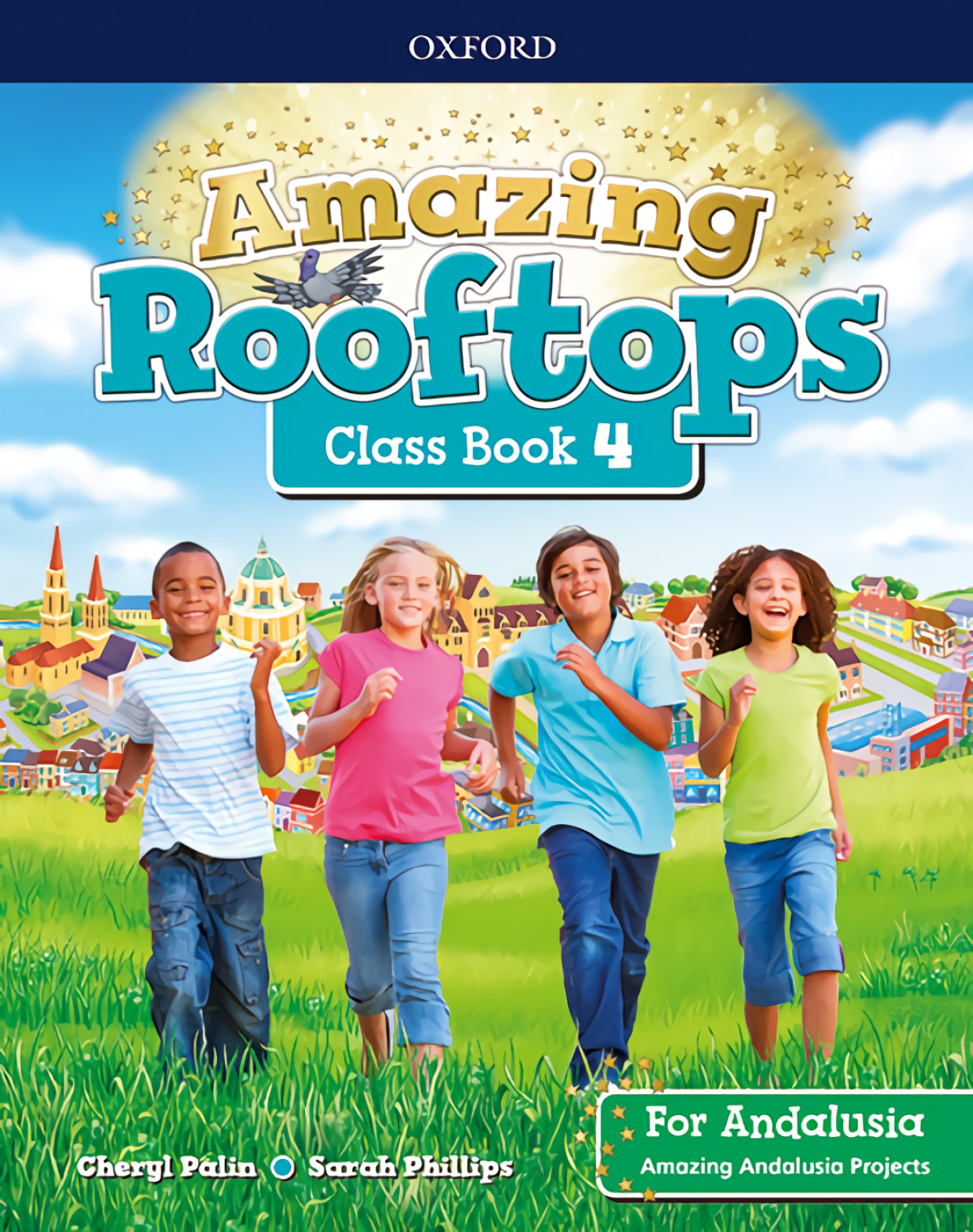 AMAZING ROOFTOPS 4 PRIMARY COURSEBOOK ANDALUCIA