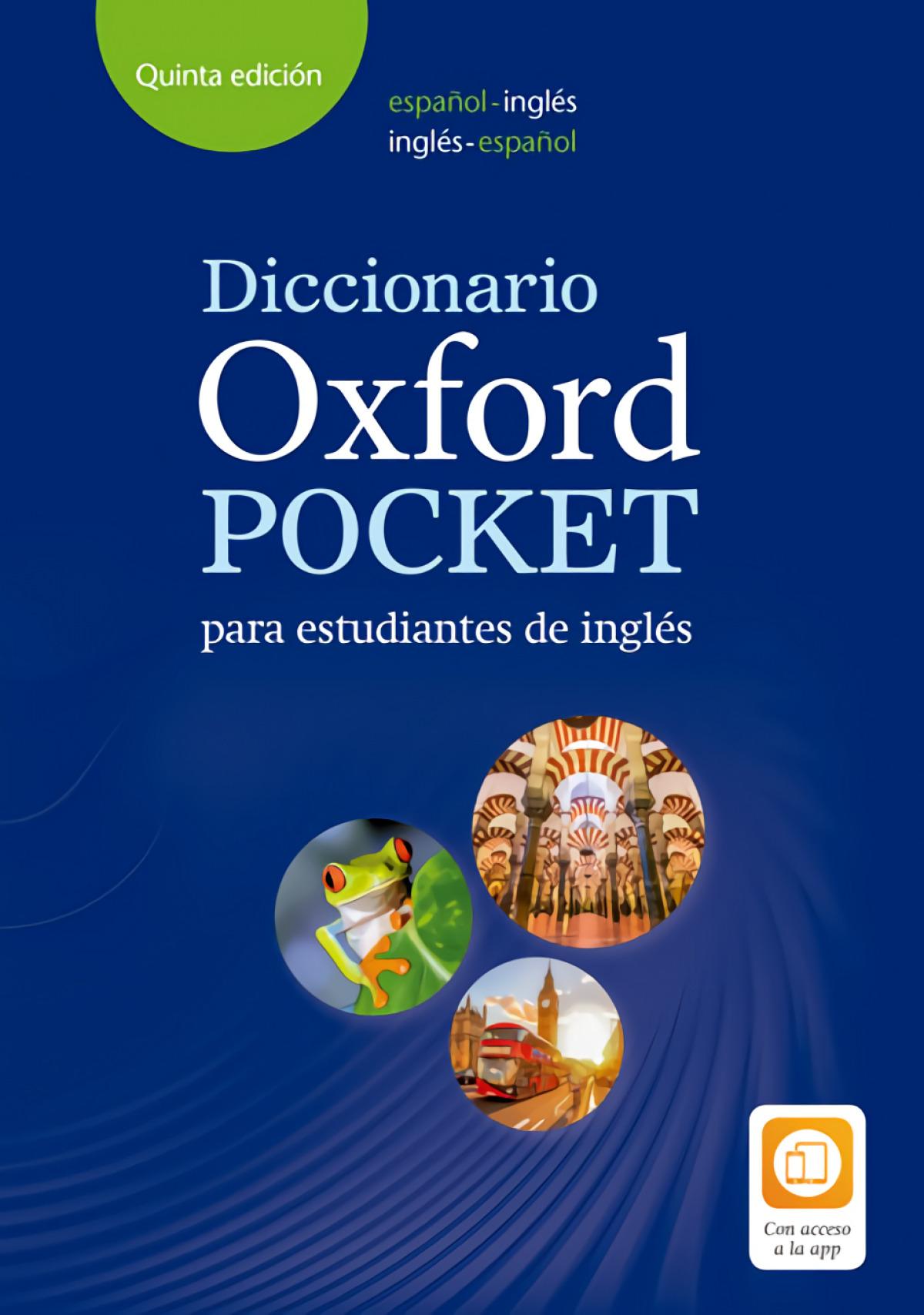DICCIONARIO OXFORD POCKET BILINGUE ESPAñOL-INLES VV 5A EDICION 9780194211680