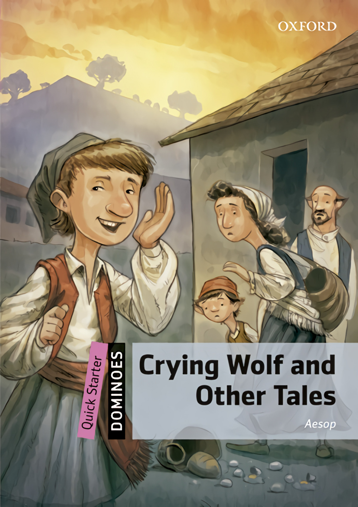 Dominoes Quick Starter. Crying Wolf and Other Tales MP3 Pack