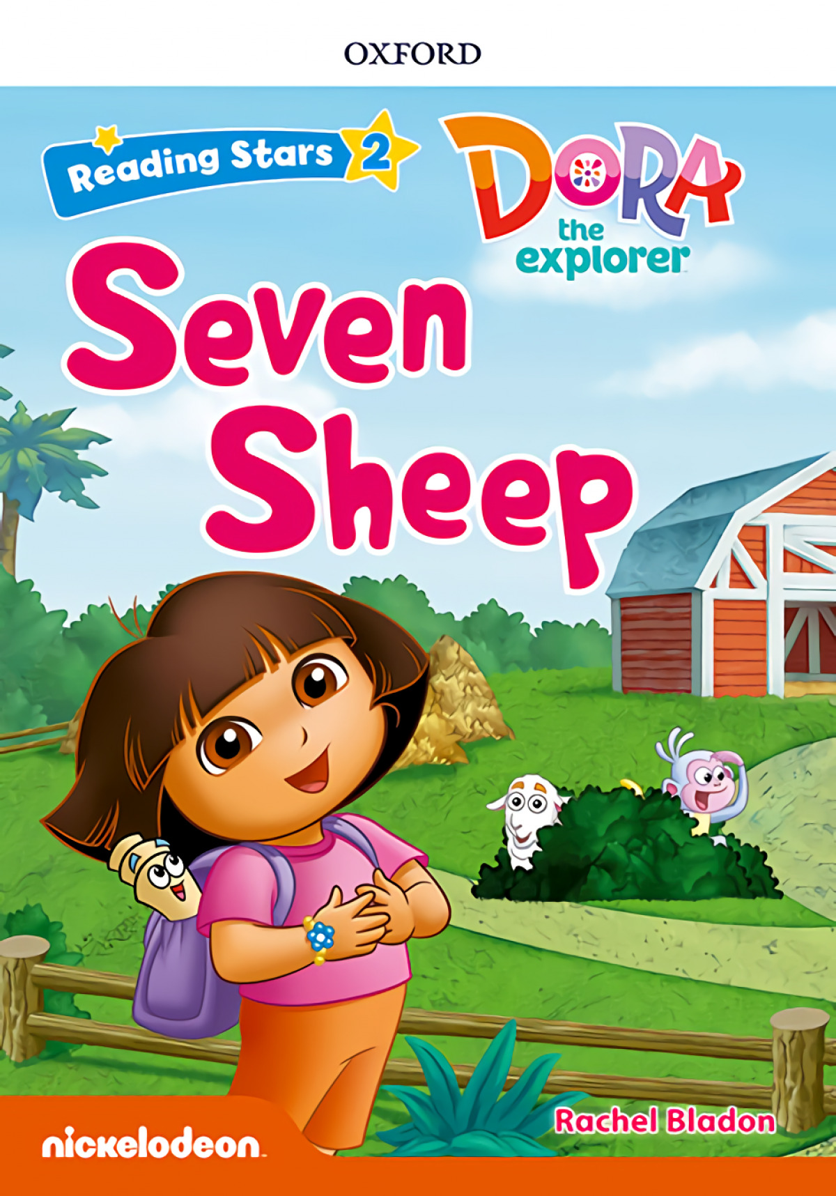 DORA THE EXPLORER SEVEN SHEEP WITH MP3 PACK READING STARS 2