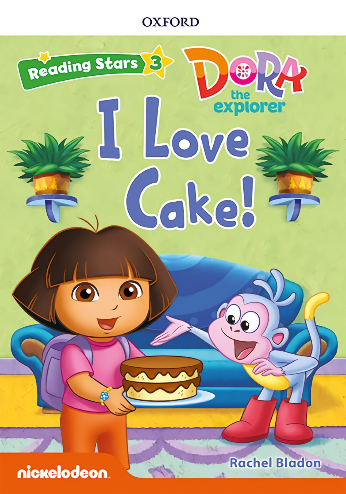Reading Stars 3. Dora I Love Cake MP3 Pack
