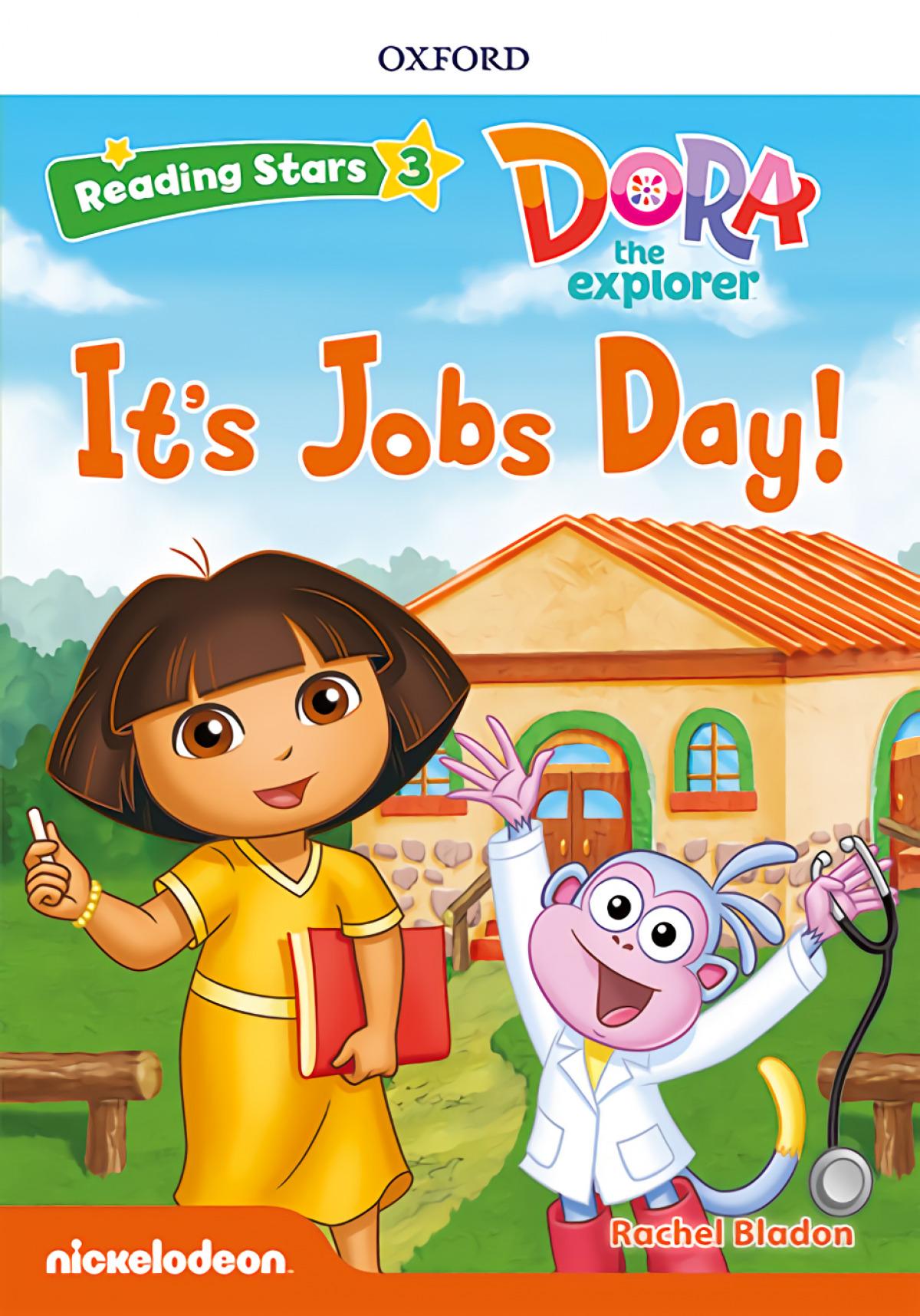 Reading Stars 3. Dora It's Jobs Day MP3 Pack