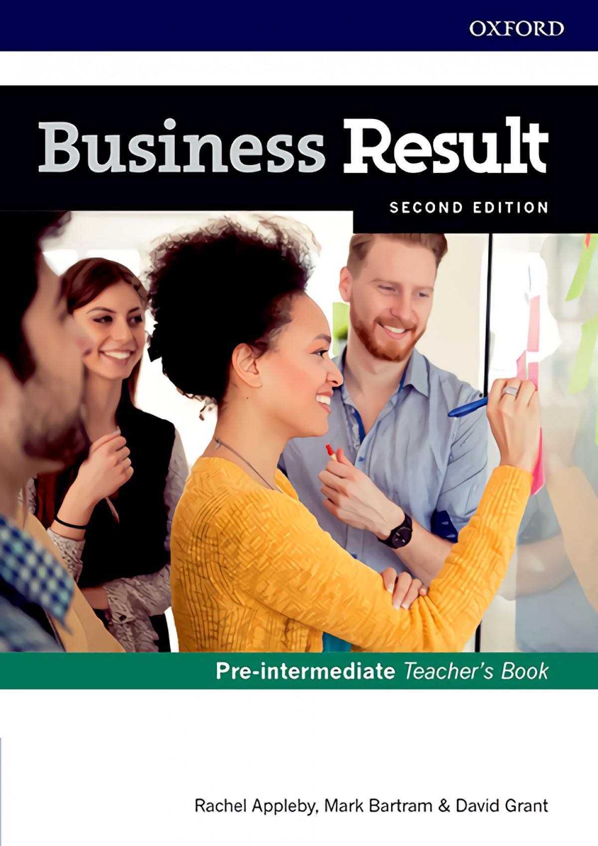 (TCHS).(17).BUSINESS RESULT PRE-INTERM.(TEACHER'S BOOK +DV