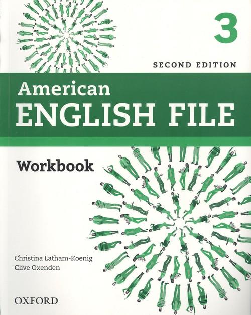 American English File 2nd Edition 3. Workbook without Answer Key (Ed.2019)