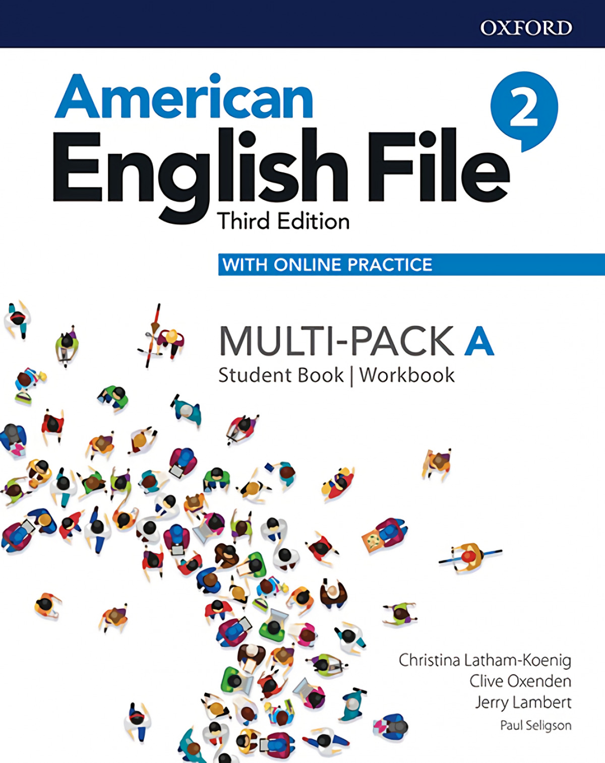 American English File 3th Edition 2. MultiPack A