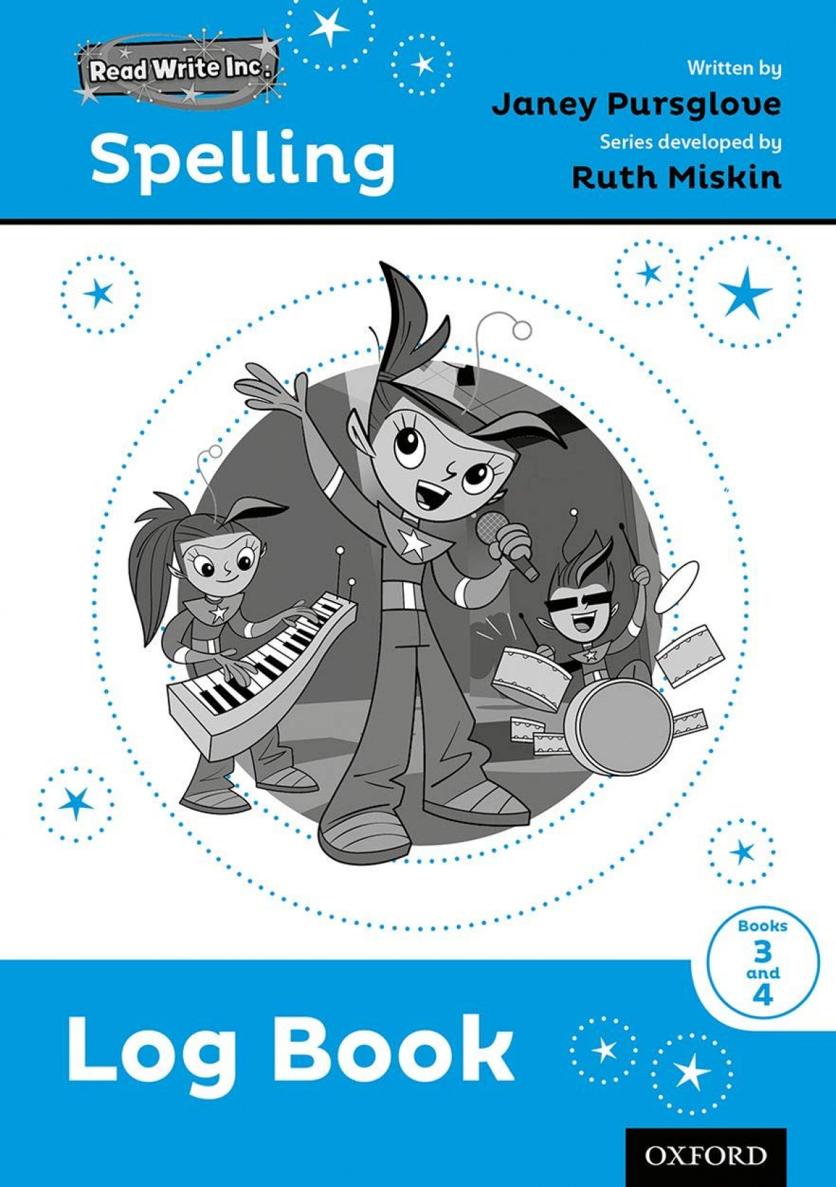 READ WRITE INC SPELLING LOG BOOK 3-4