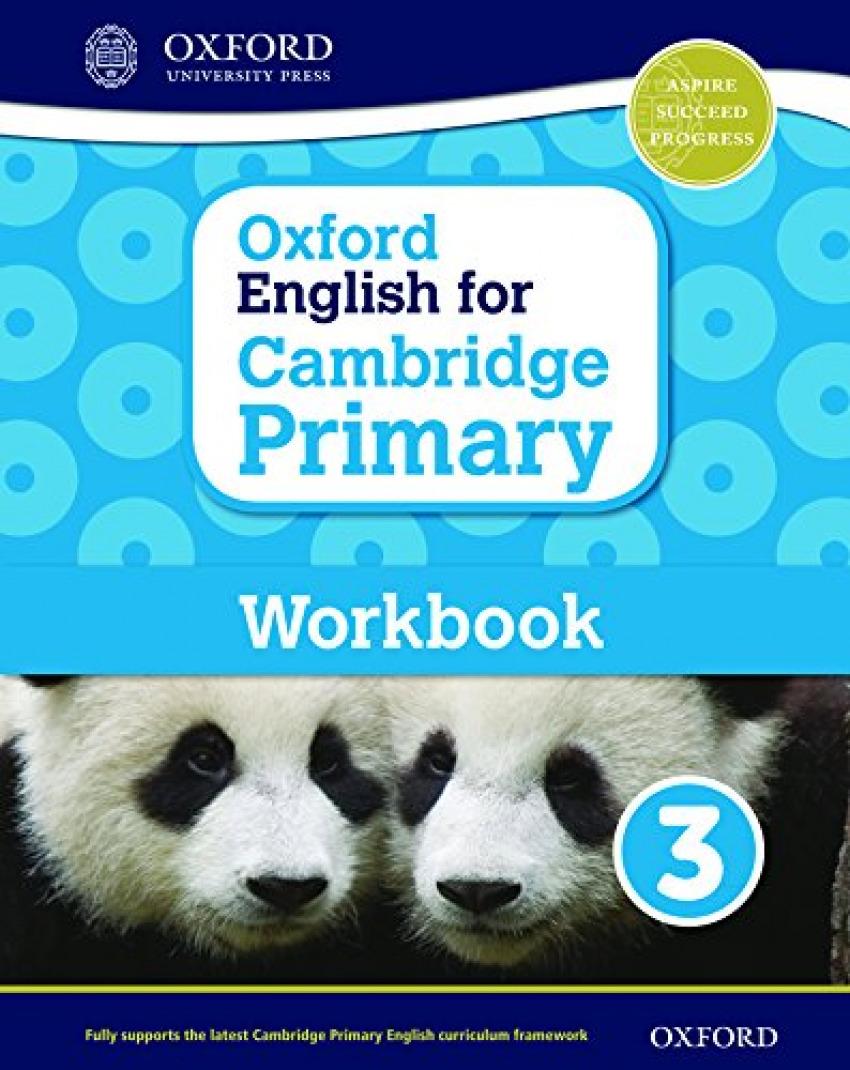 OXF ENGLISH FOR CAMBRIDGE PRIM 3 WB