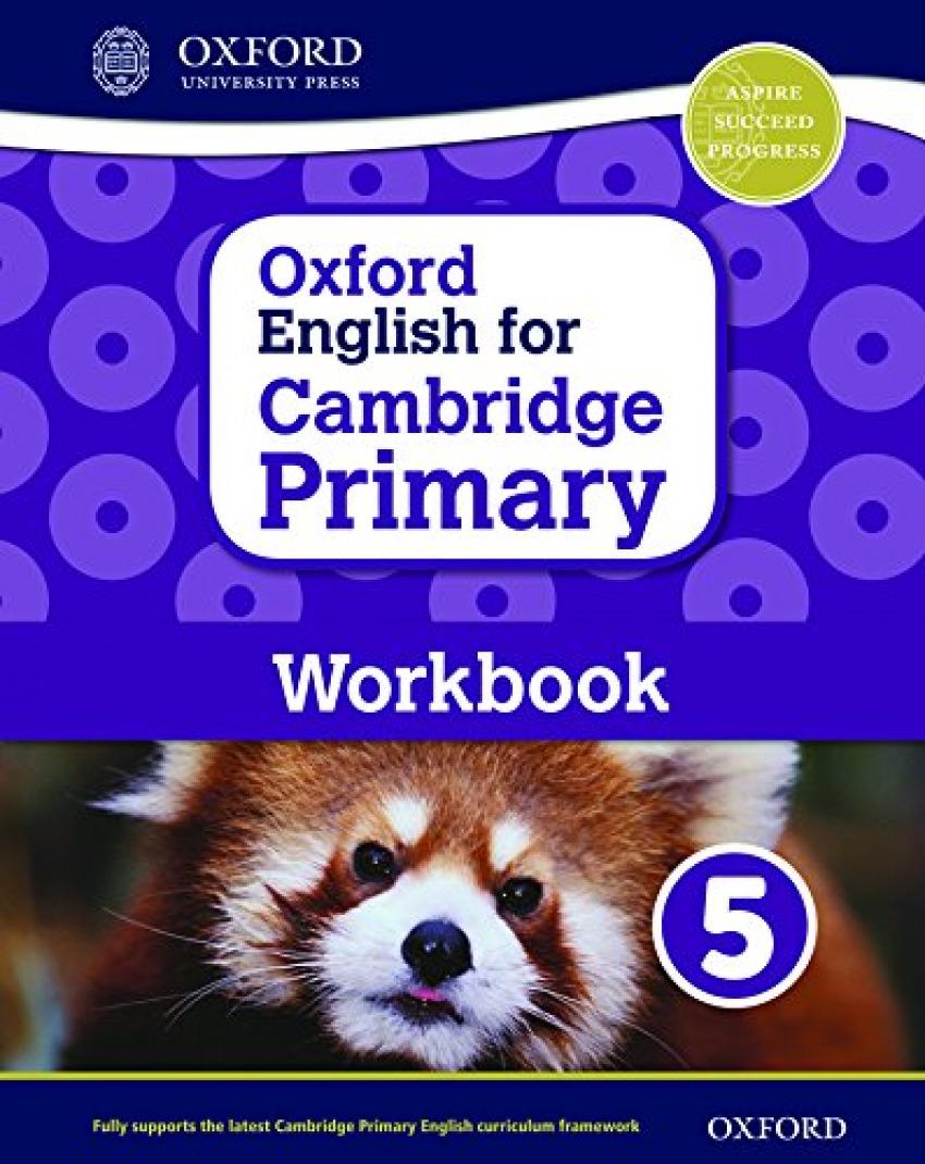 OXF ENGLISH FOR CAMBRIDGE PRIM 5 WB
