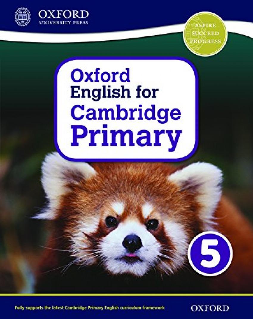 #OXF ENGLISH FOR CAMBRIDGE PRIM 5 SB