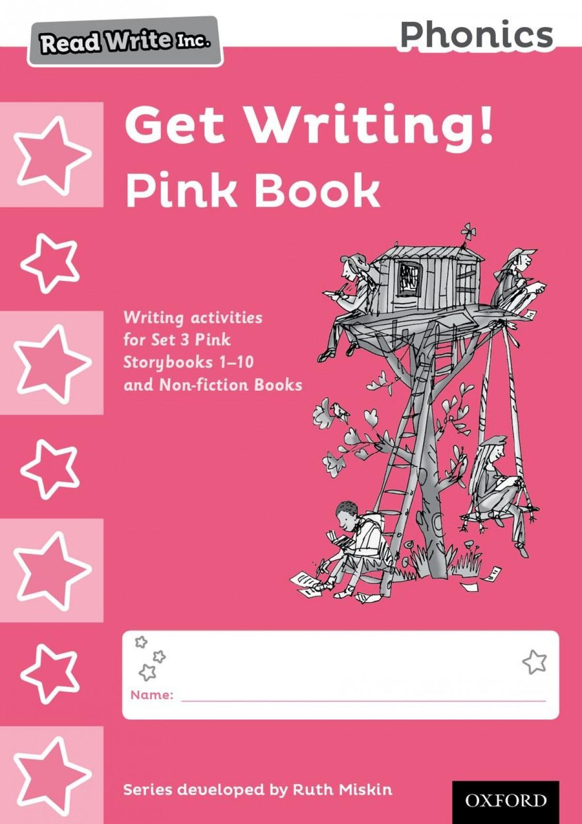 PACK 10 READ WRITE INC.PHONICS:GET WRITING PINK BOOK