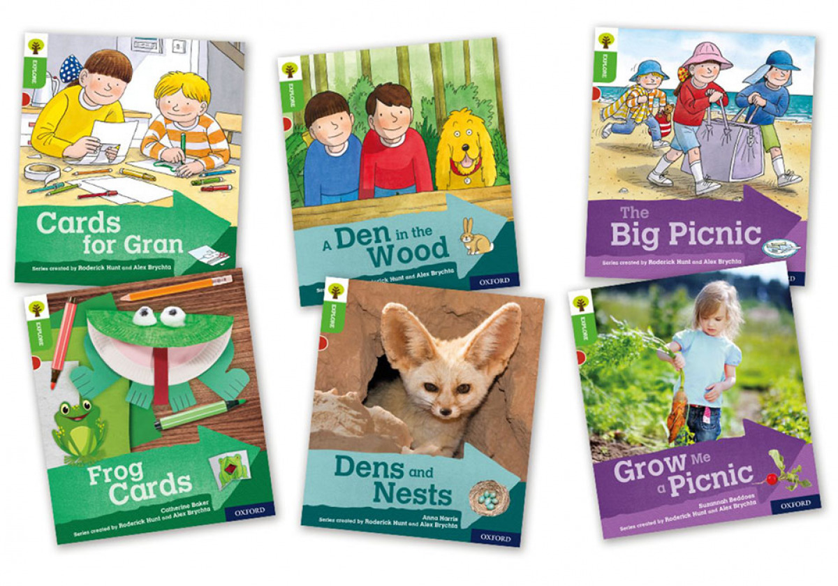 Oxford Reading Tree Explore with Biff, Chip and Kipper Level 2. Mixed Pack of 6