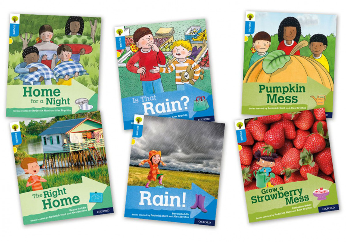 Oxford Reading Tree Explore with Biff, Chip and Kipper Level 3. Mixed Pack of 6