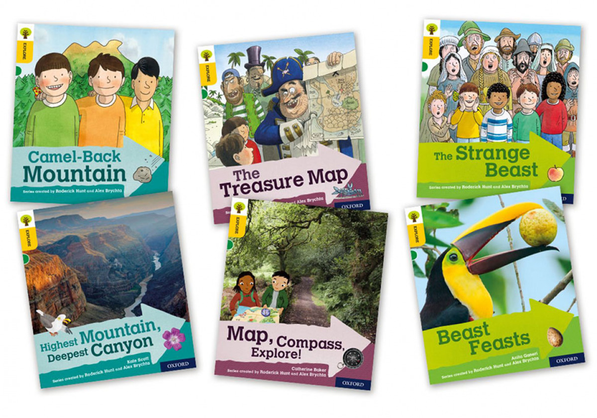 Oxford Reading Tree Explore with Biff, Chip and Kipper Level 5. Mixed Pack of 6