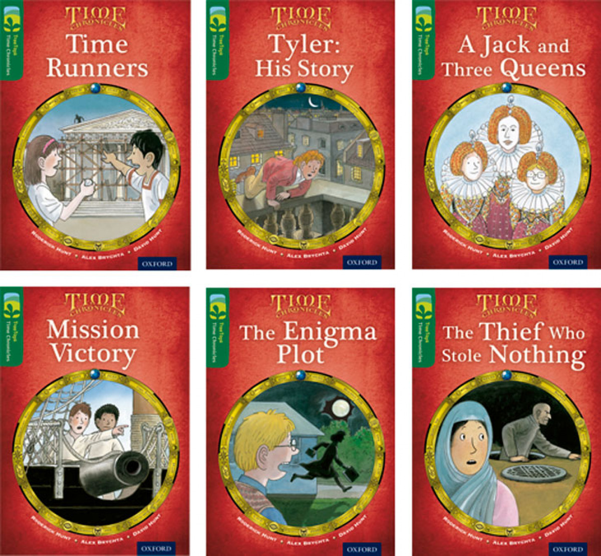 Oxford Reading Tree TreeTops Time Chronicles Level 12. Mixed Pack of 6