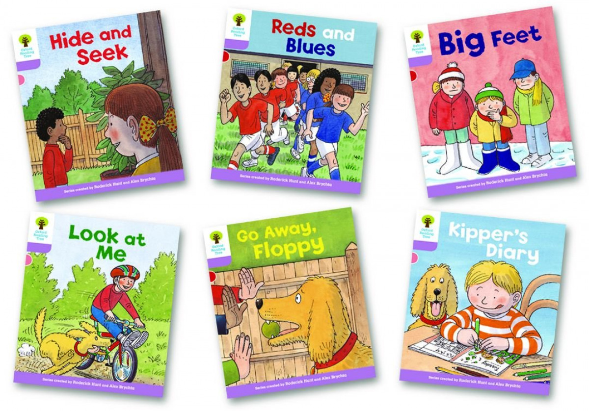 Oxford Reading Tree 1+: First Sentences. Pack of 6