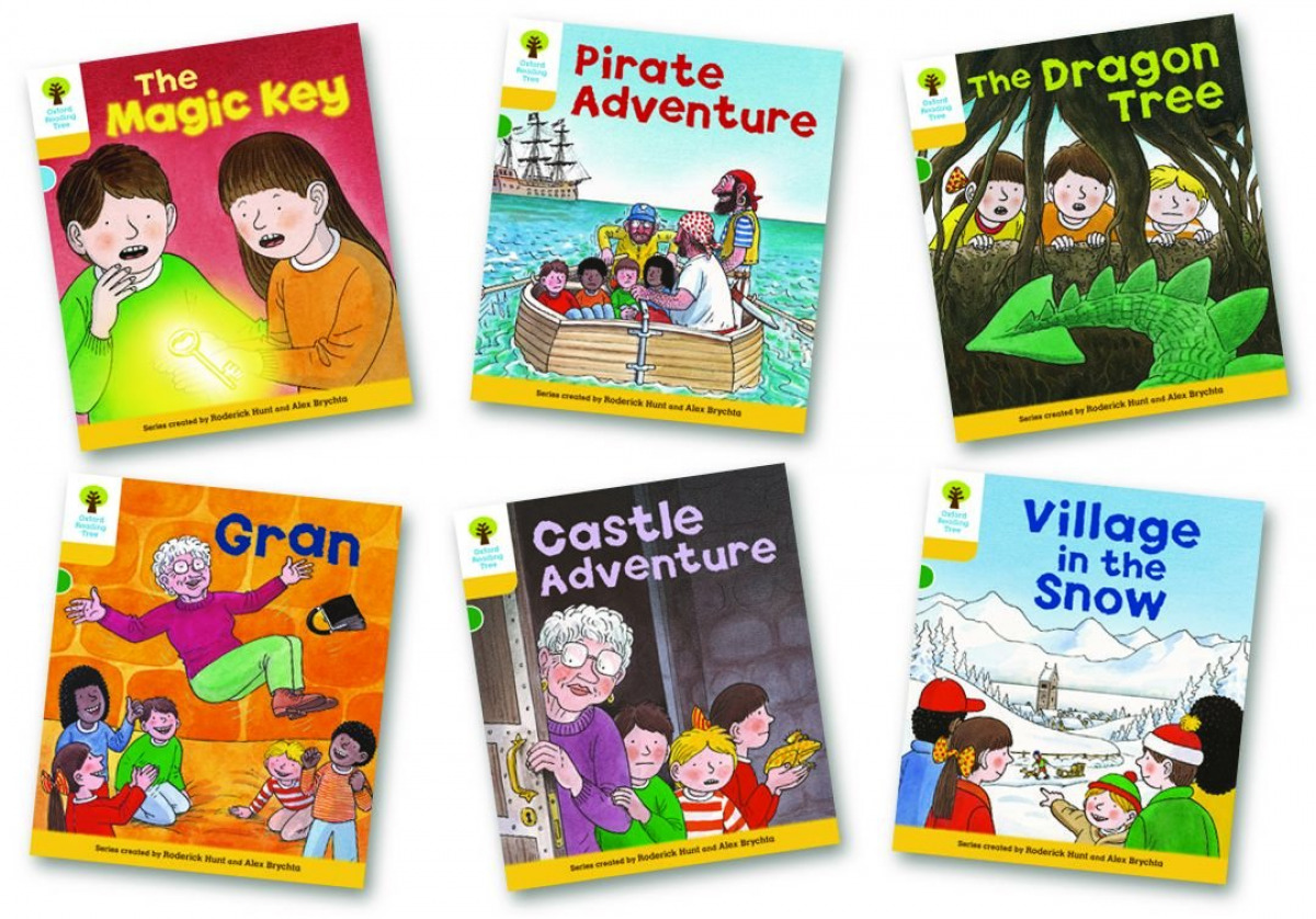 Oxford Reading Tree 5: Stories. Pack of 6