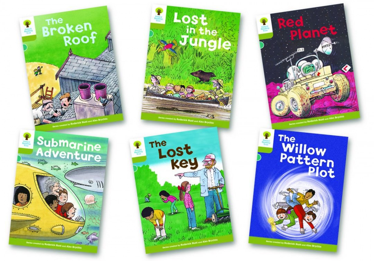Oxford Reading Tree 7: Stories. Pack of 6