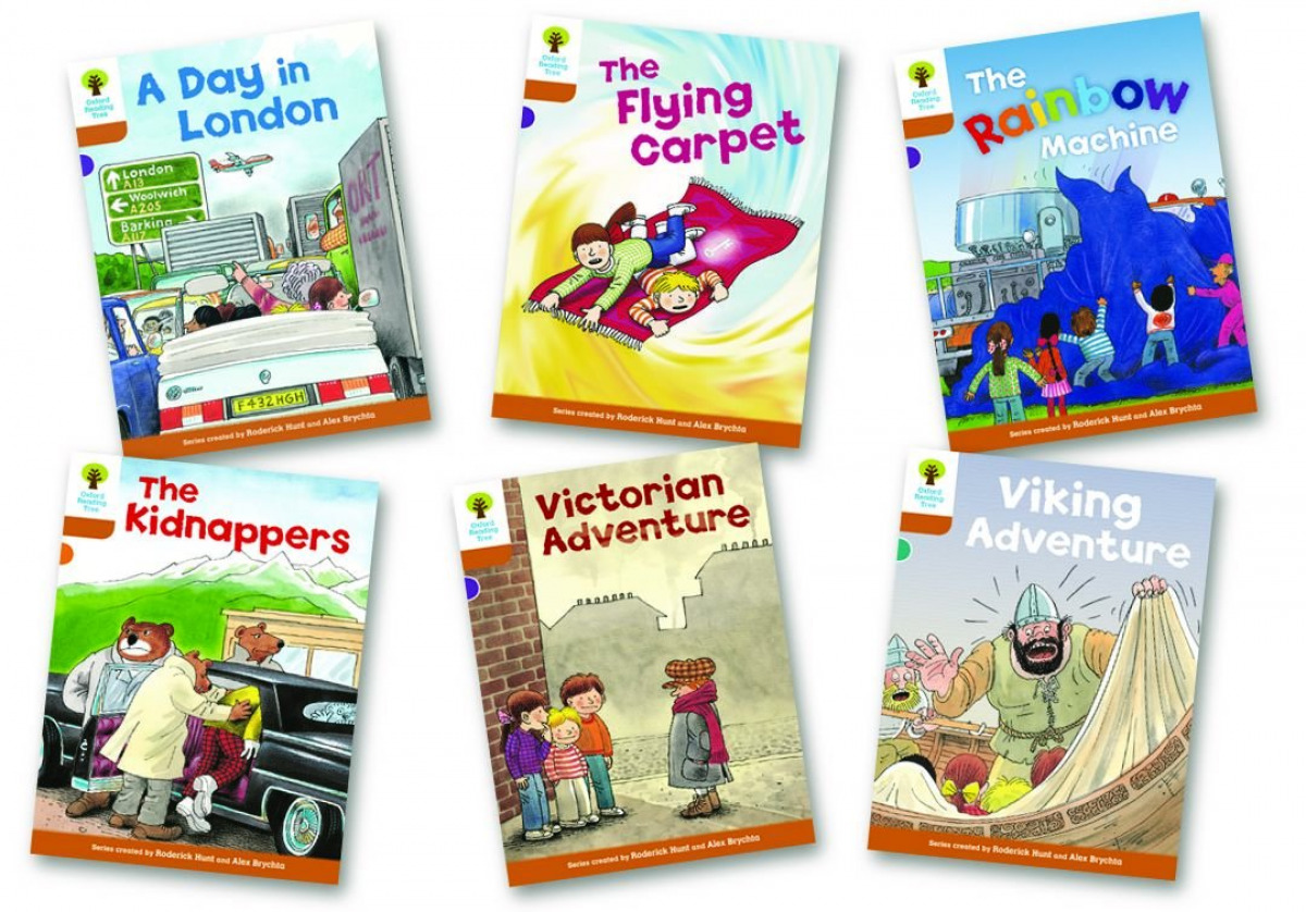 Oxford Reading Tree 8: Stories. Pack of 6