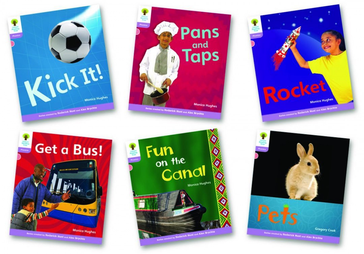 Oxford Reading Tree 1+: Floppys Phonics Non-Fiction. Pack of