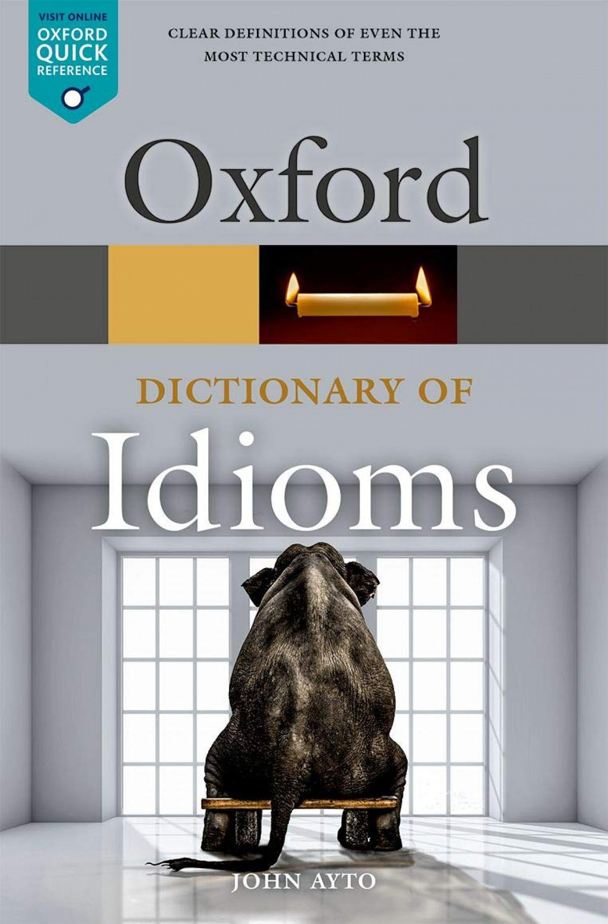 Oxford dictionary english idioms