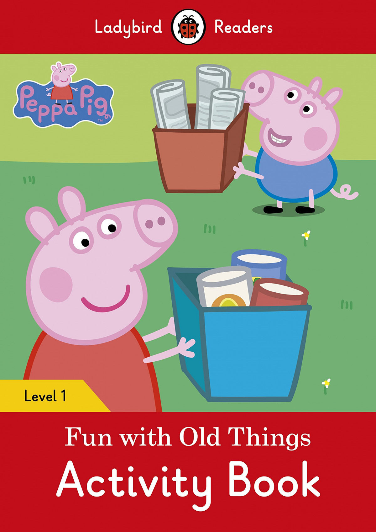 FUN WITH OLD THINGS. PEPPA PIG. ACTIVITY BOOK