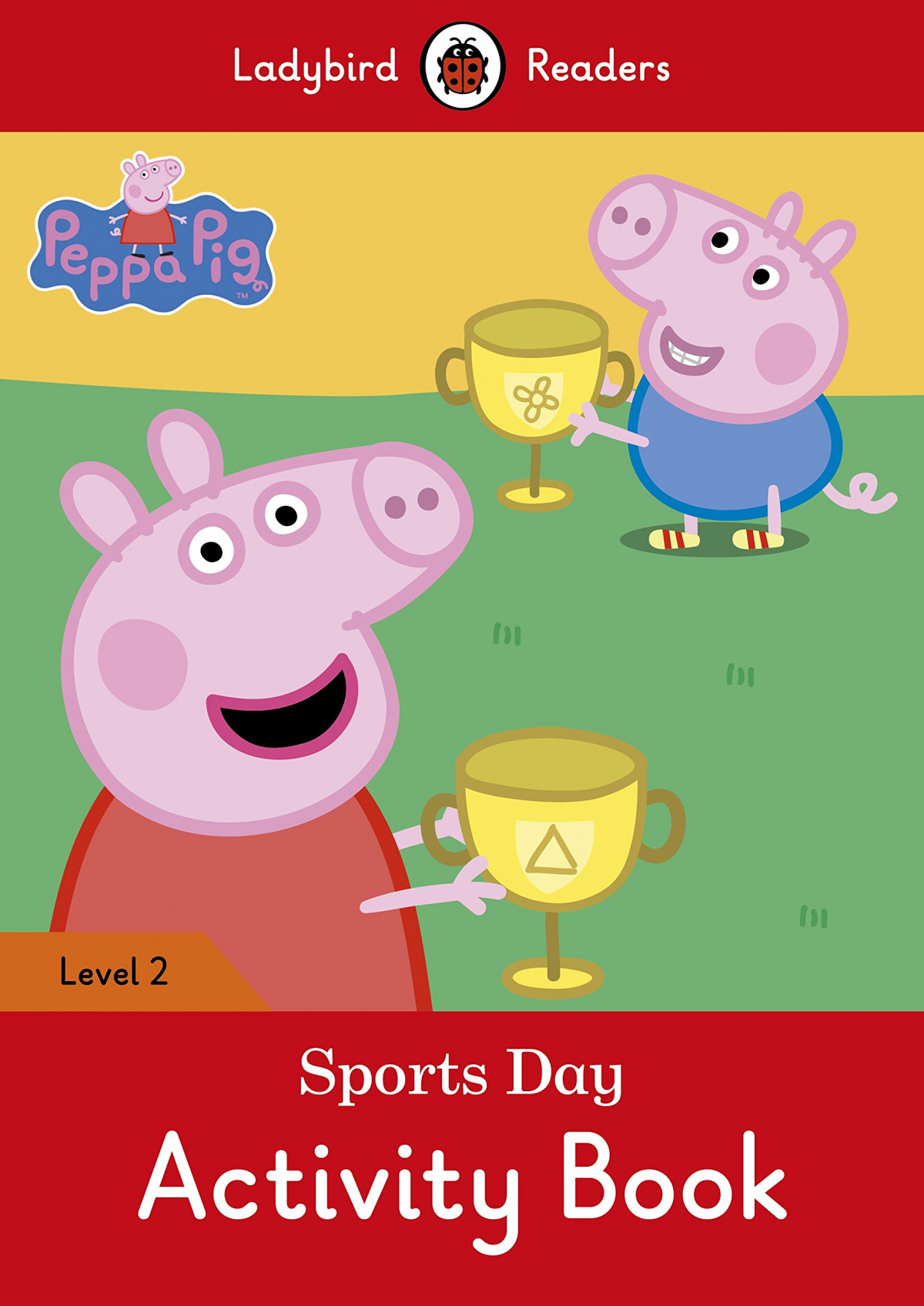 SPORTS DAY. PEPPA PIG. ACTIVITY BOOK