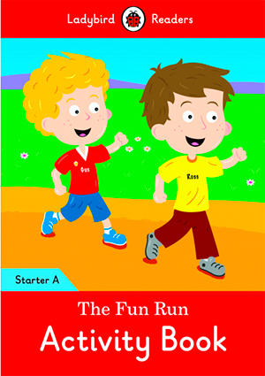 THE FUN RUN. ACTIVITY BOOK