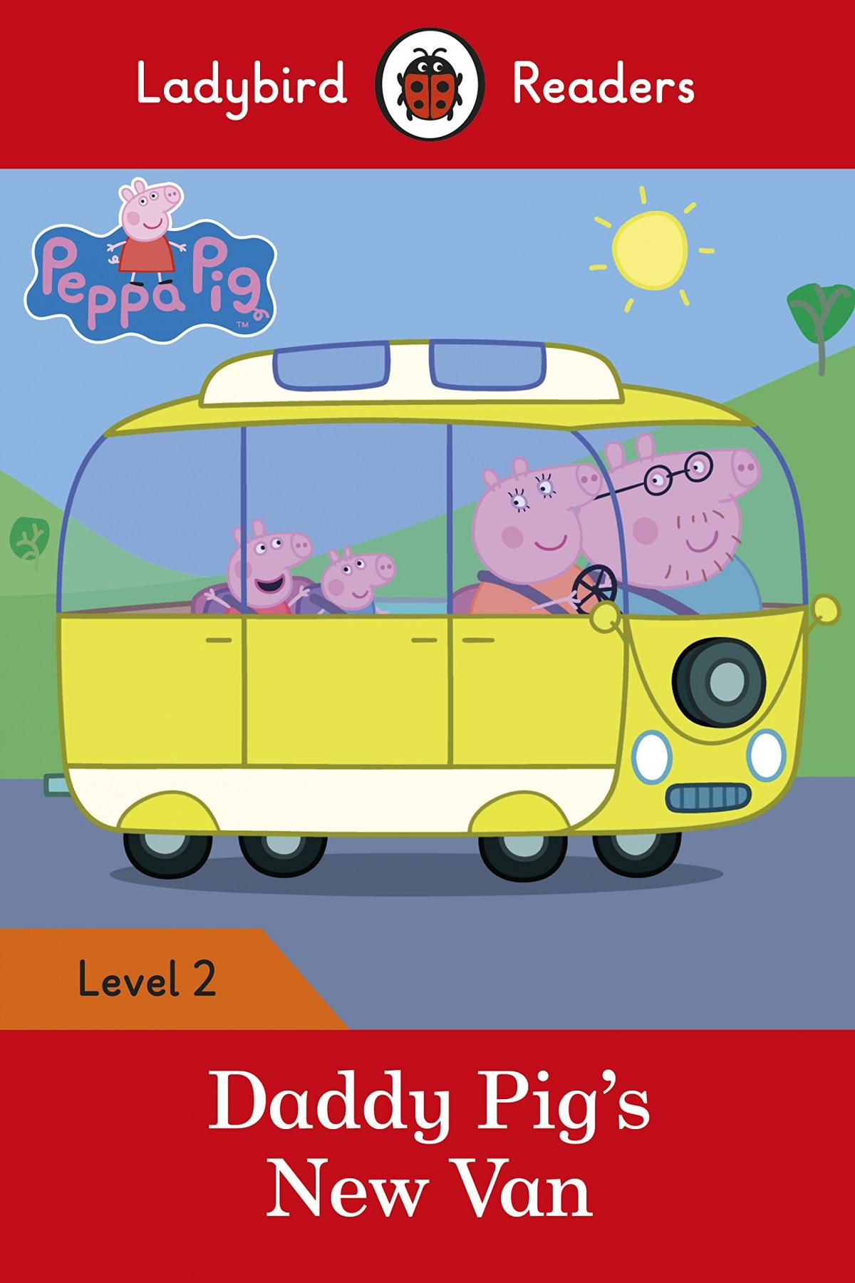 DADDY PIG'S NEW VAN. PEPPA PIG