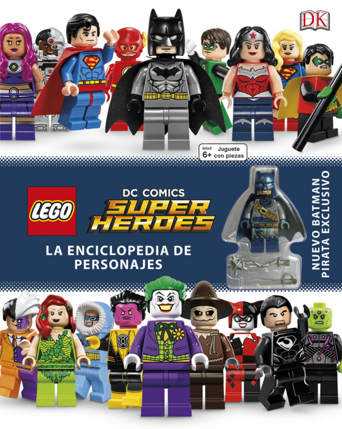 LEGO DC COMICS ENCICLOPEDIA DE PERSONAJES