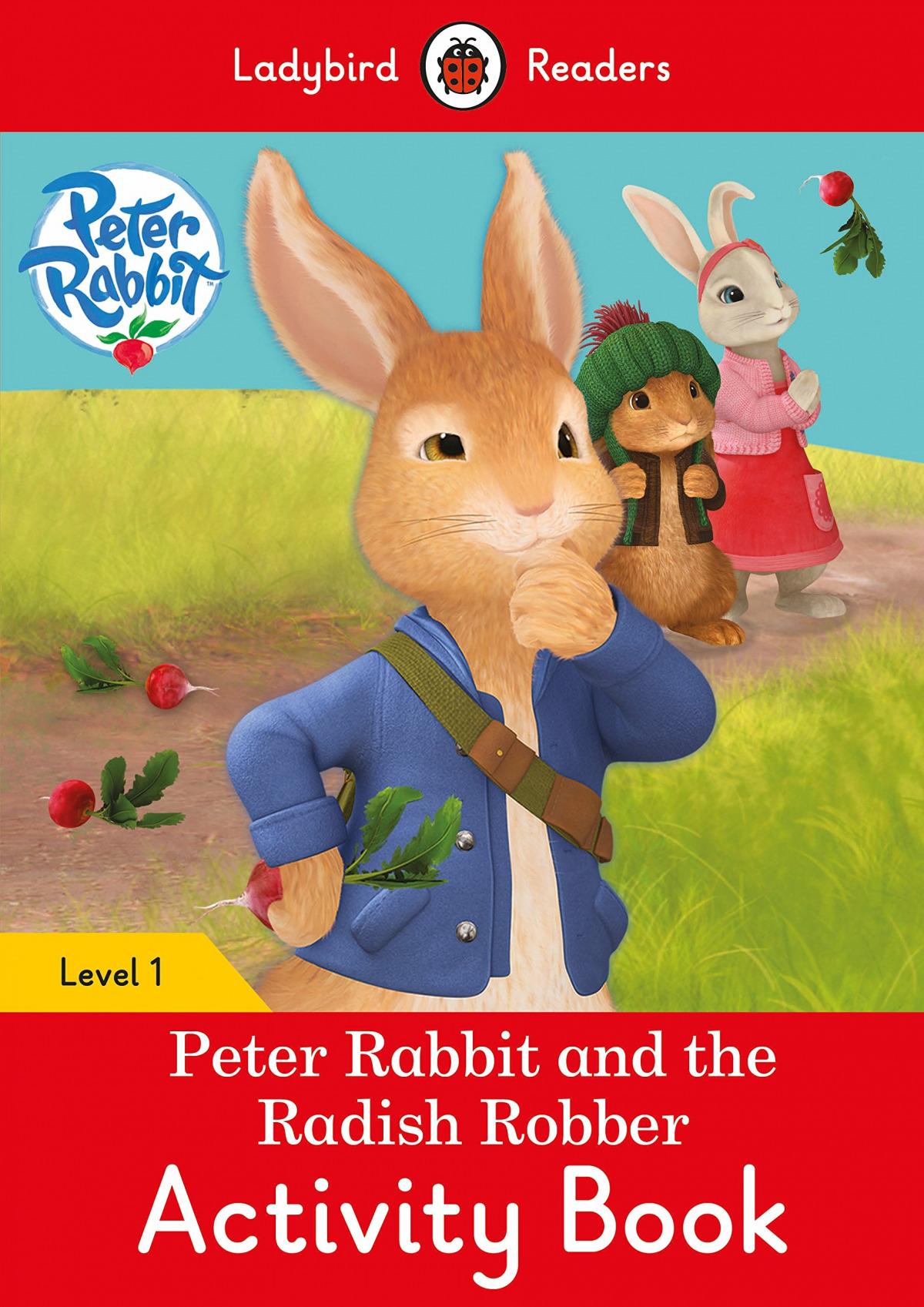 PETER RABBIT AND THE RADISH ROBBER. ACTIVIRT BOOK