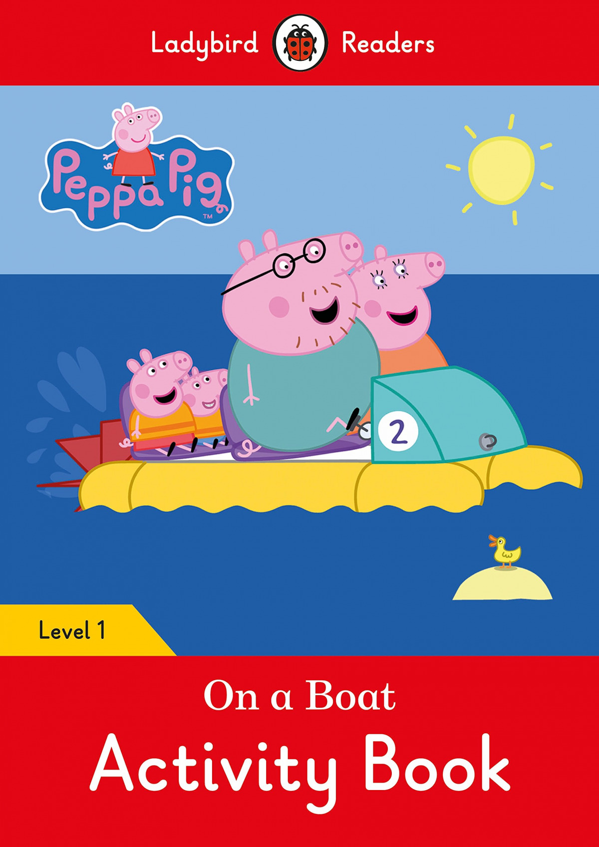 ON A BOAT. PEPPA PIG. ACTIVITY BOOK