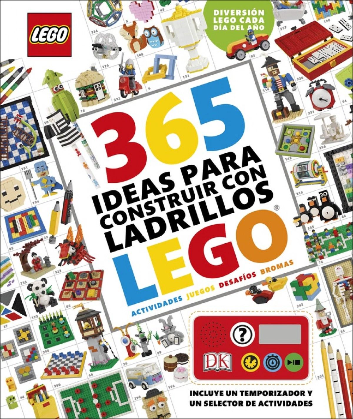 365 IDEAS PARA CONSTRUIR CON LADRILLOS LEGO 9780241303405