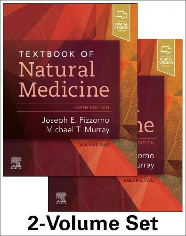 Texbook of natural medicine. 2 volume set