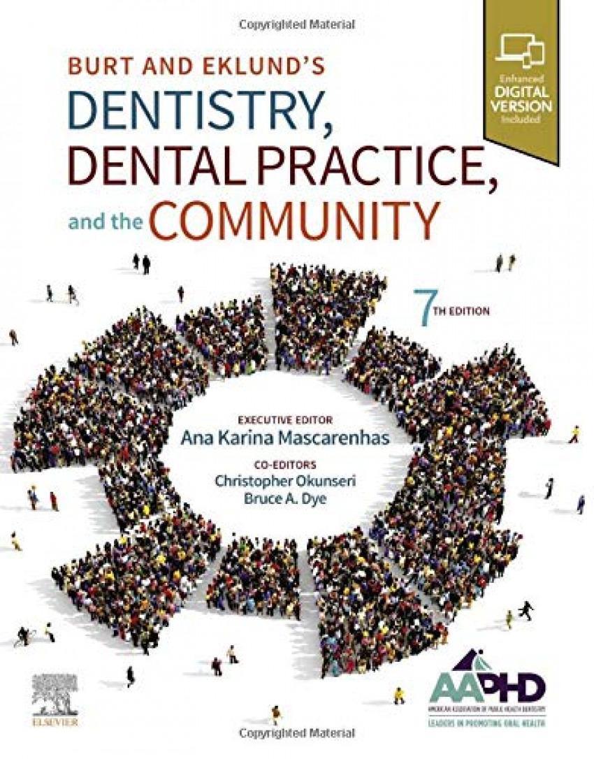 Burt and eklunda.s dentistry,dental practice and community